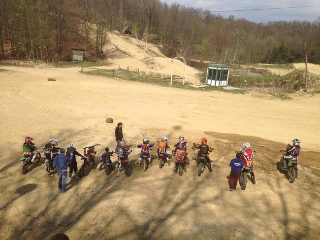 skola motocross